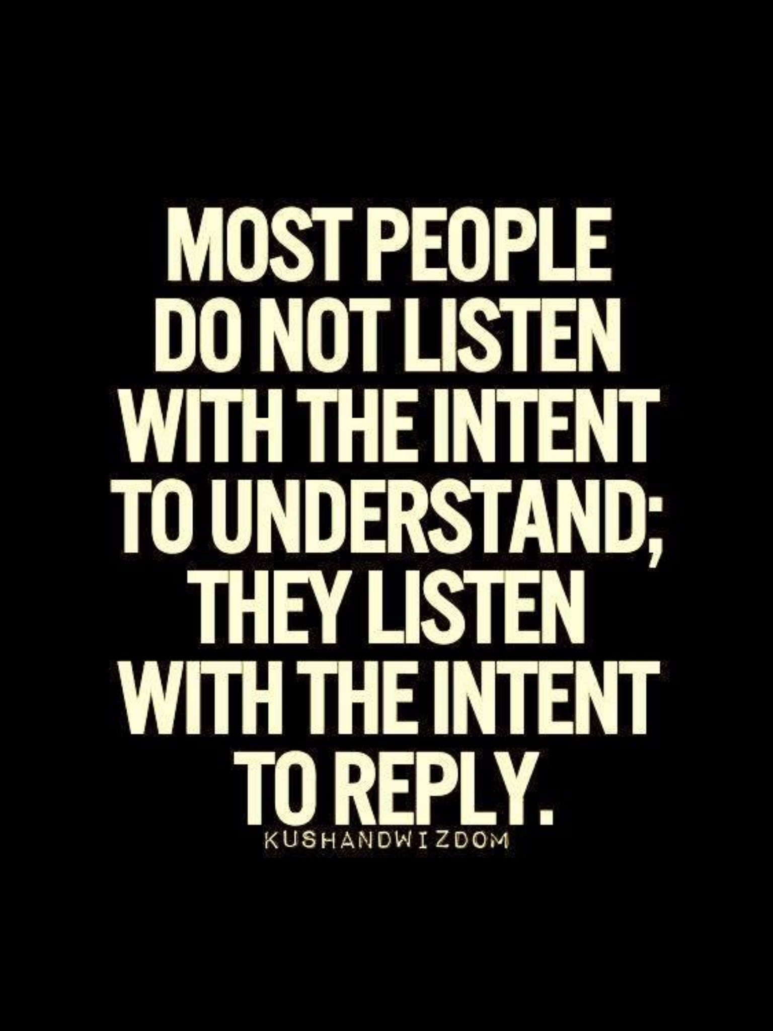 learn to listen quotes - photo #3