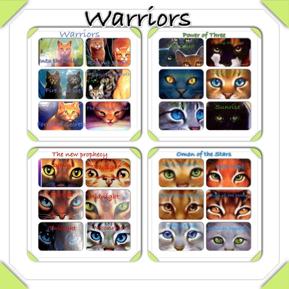 Books Like Warriors By Erin Hunter