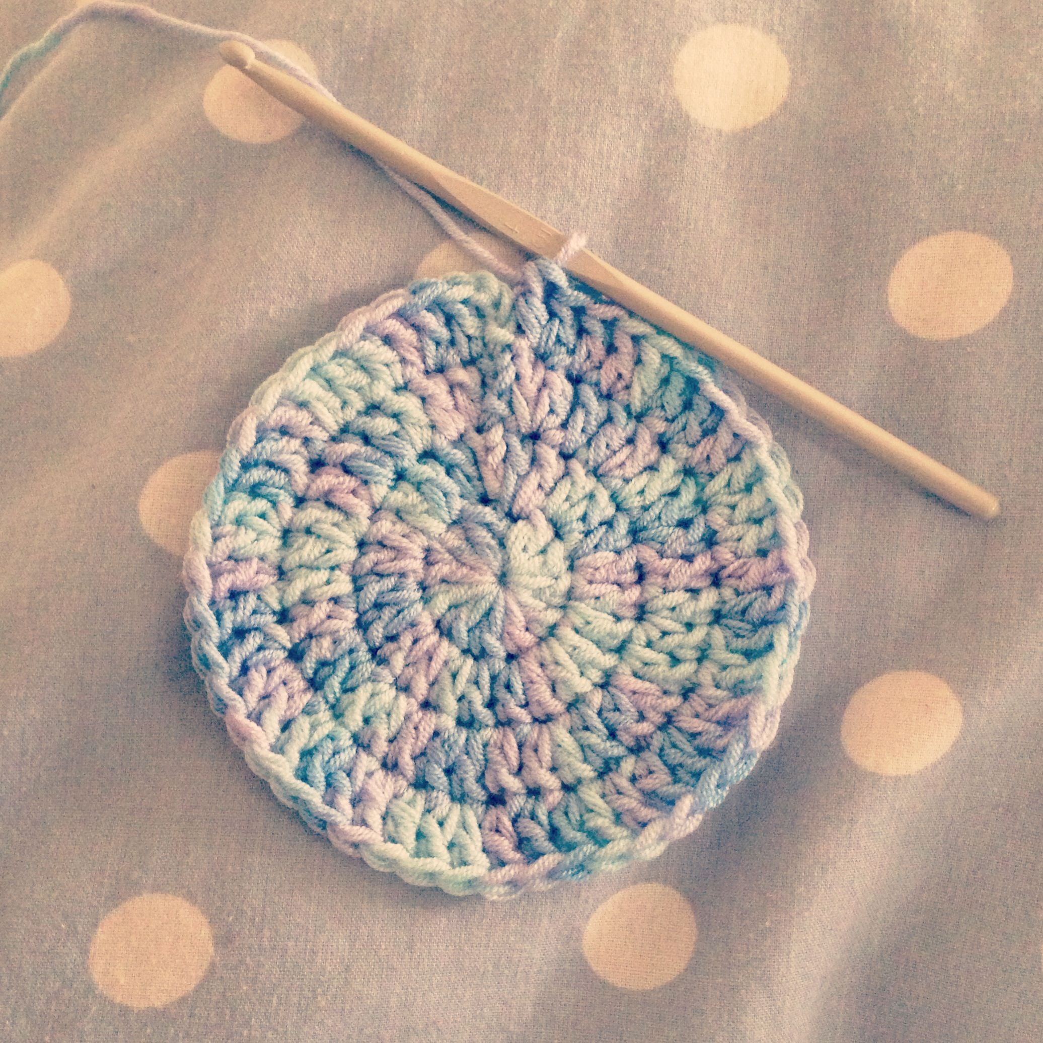 Crochet circles Grandma Pinterest