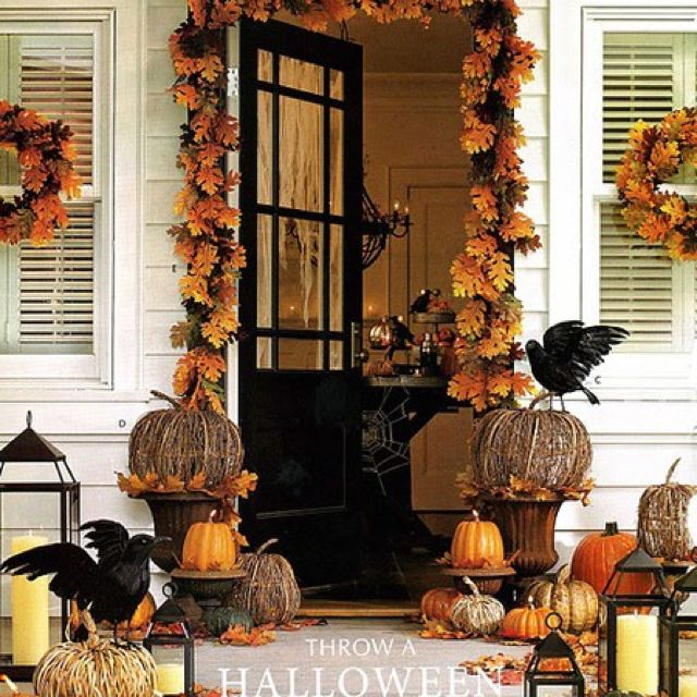 Happy Halloween Tips On Home Decoration 1: 25 DIY Fall Decorations