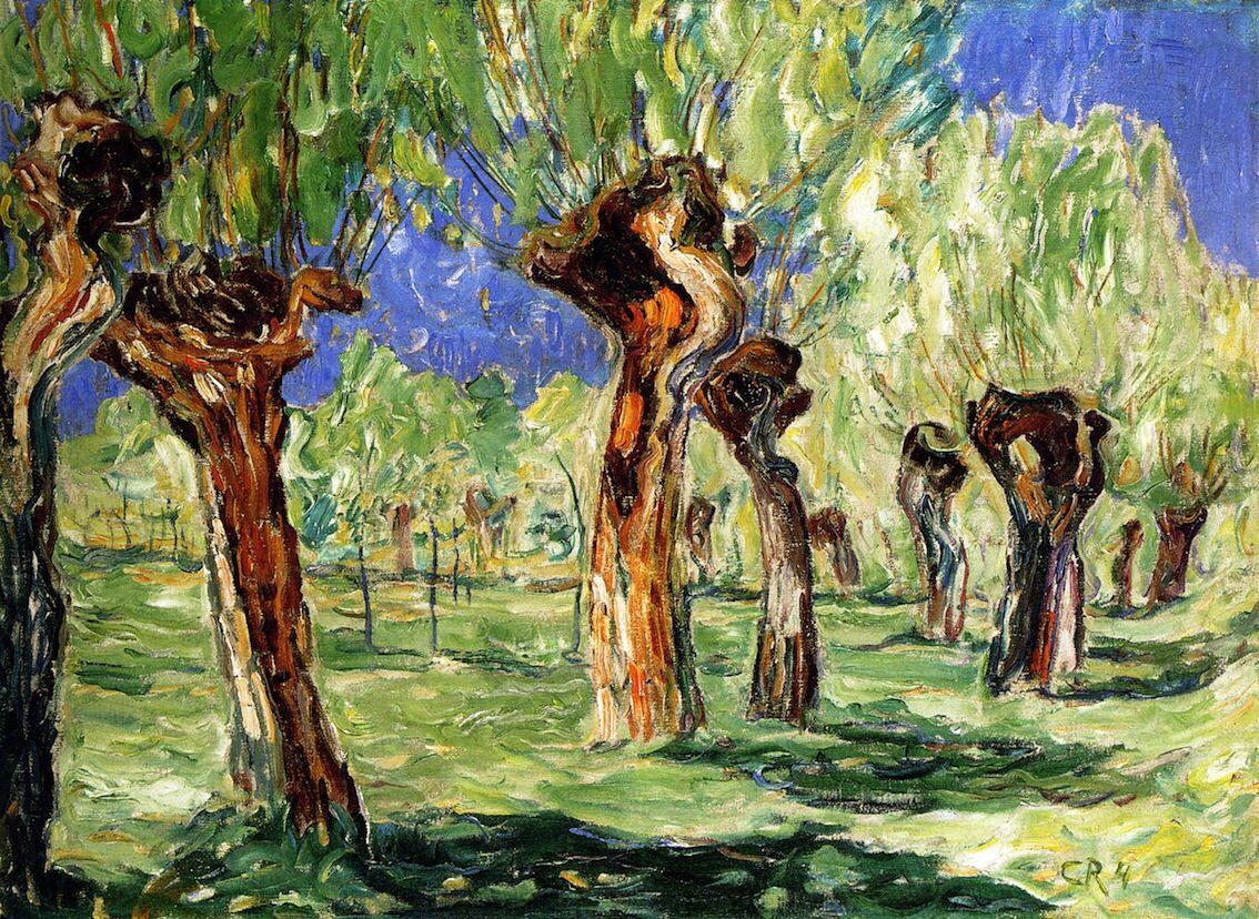 Christian Rohlfs- Wieden in Spring | Birth of Art | Pinterest