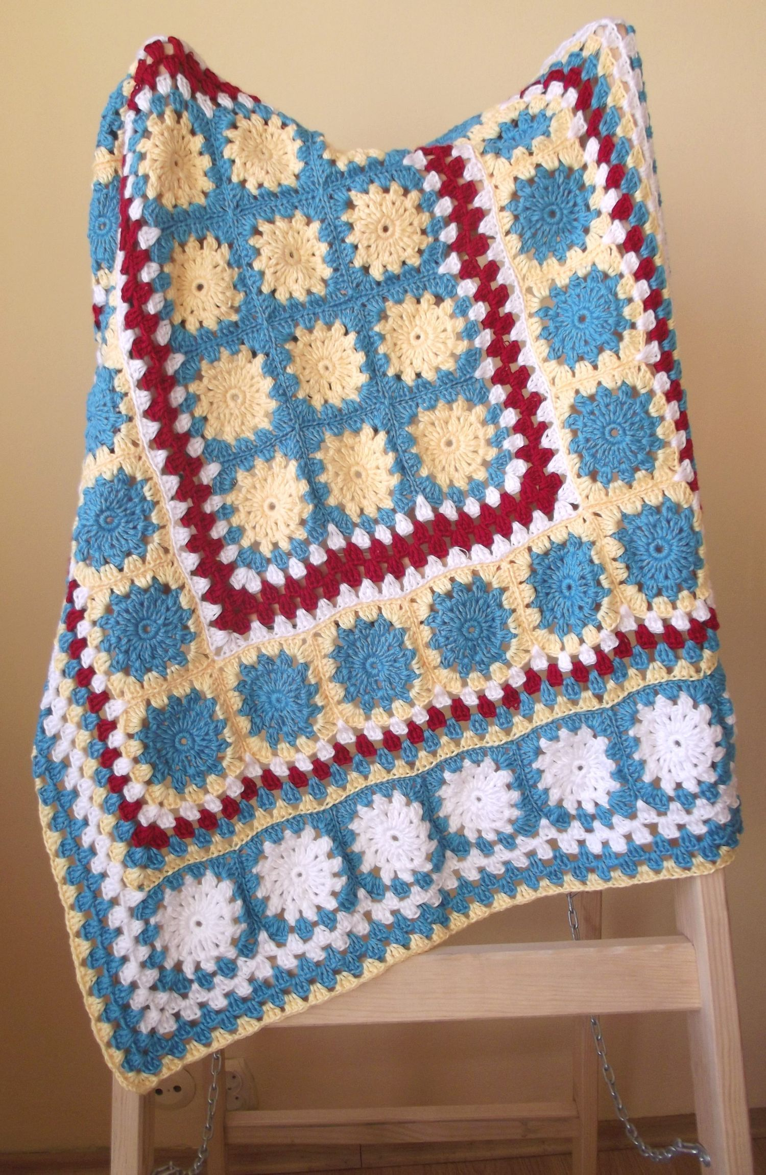 Crochet Patterns Pinterest : Crochet baby blanket. crochet patterns Pinterest