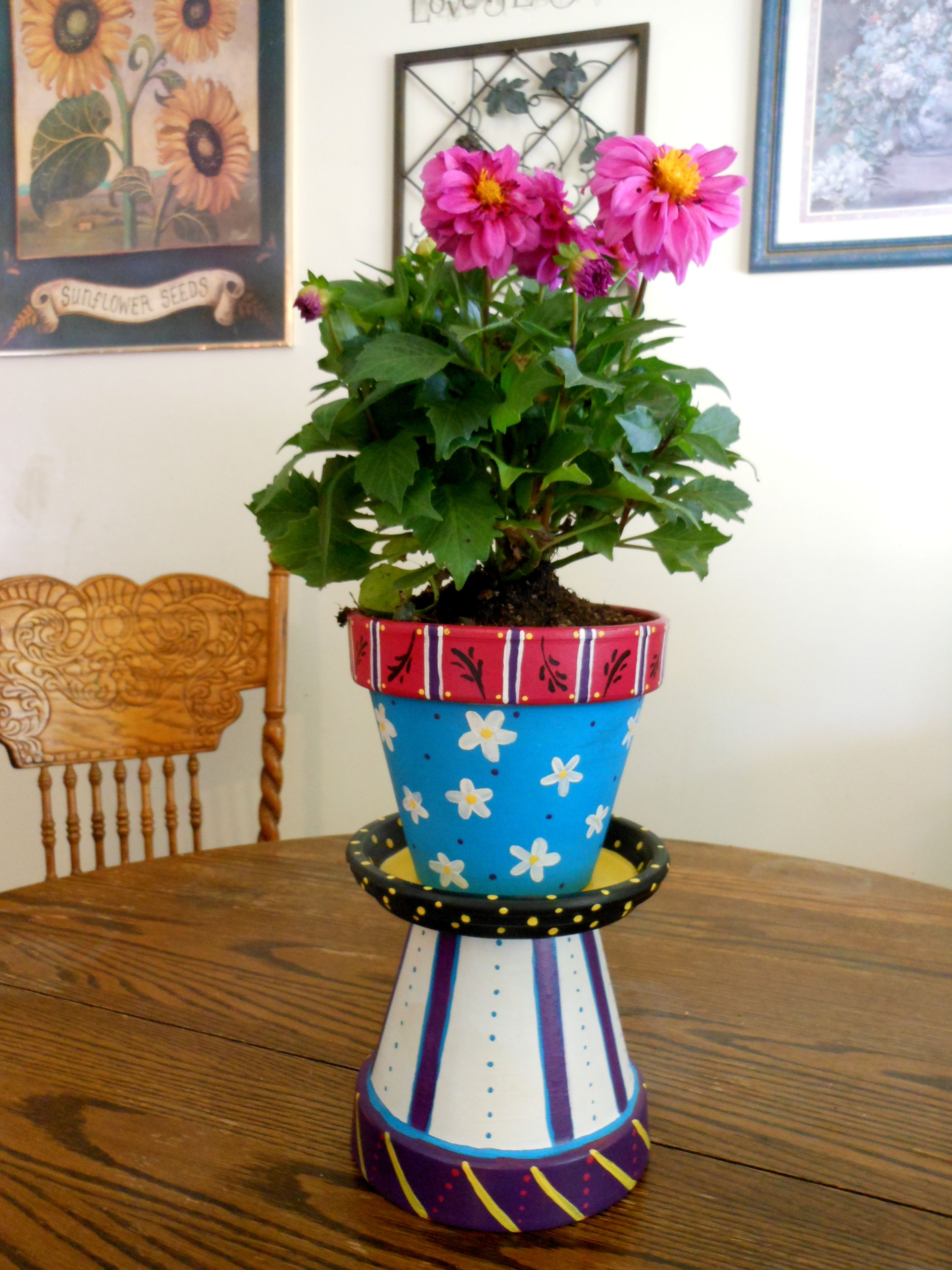 Crafts with clay pots - Clay Pots For Crafts Recycled