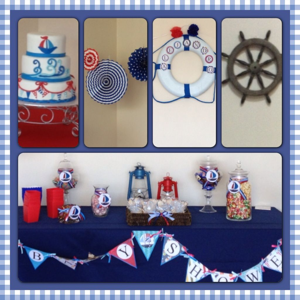 nautical baby shower nautical theme party pinterest
