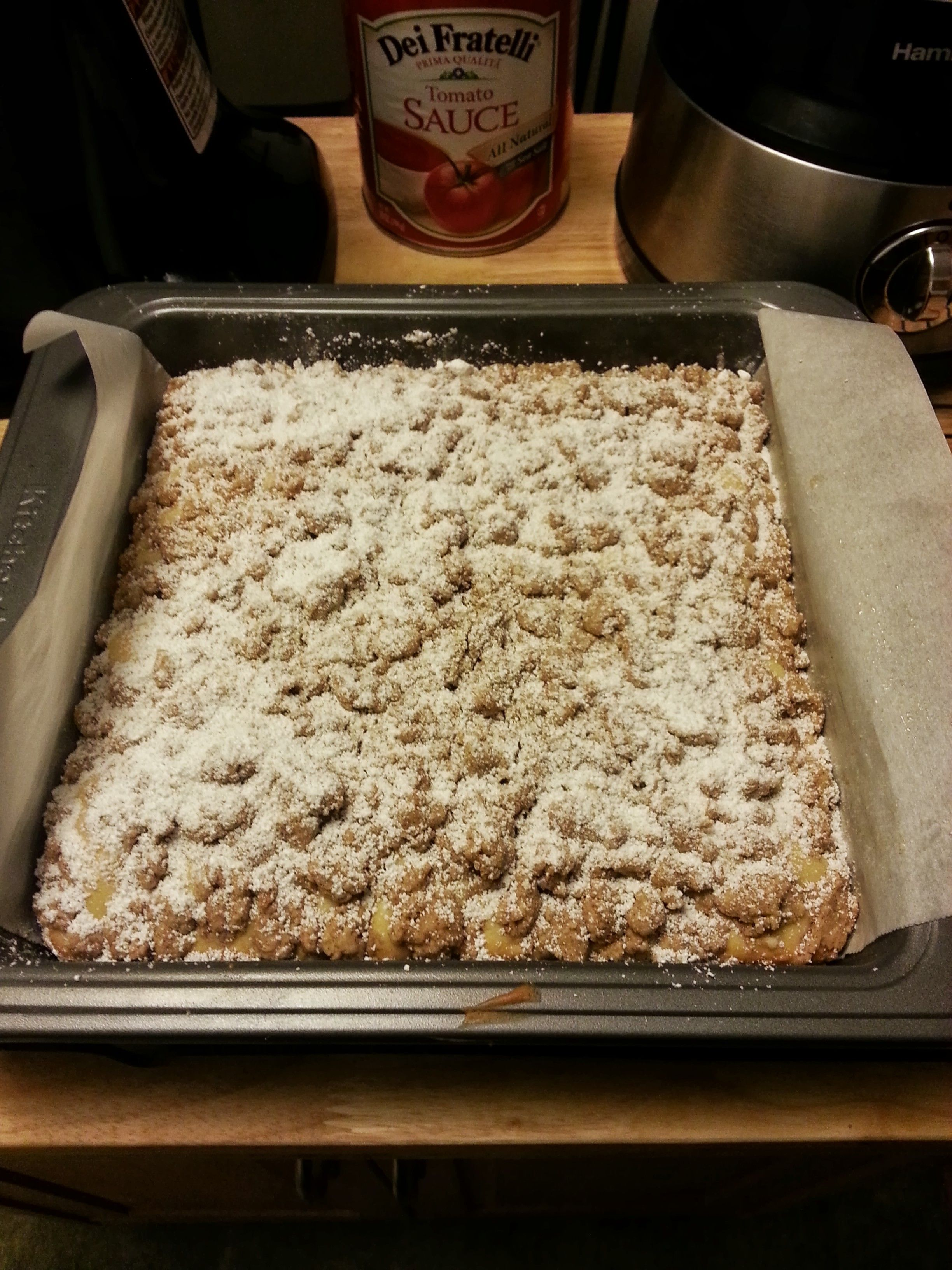 New York Style Crumb Cake | Tony's Cooking & Baking | Pinterest