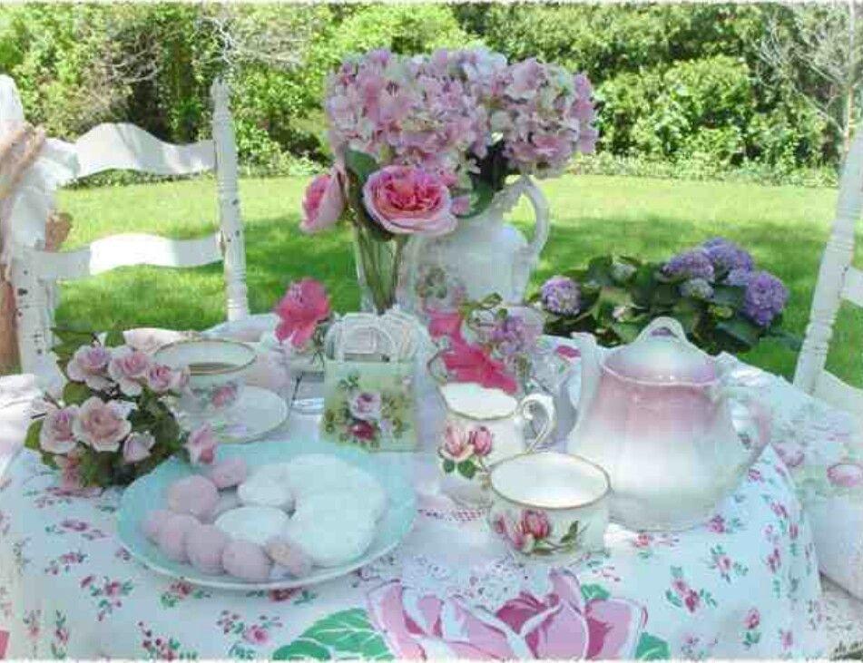 Garden Tea Party Home Decor Ideas Pinterest
