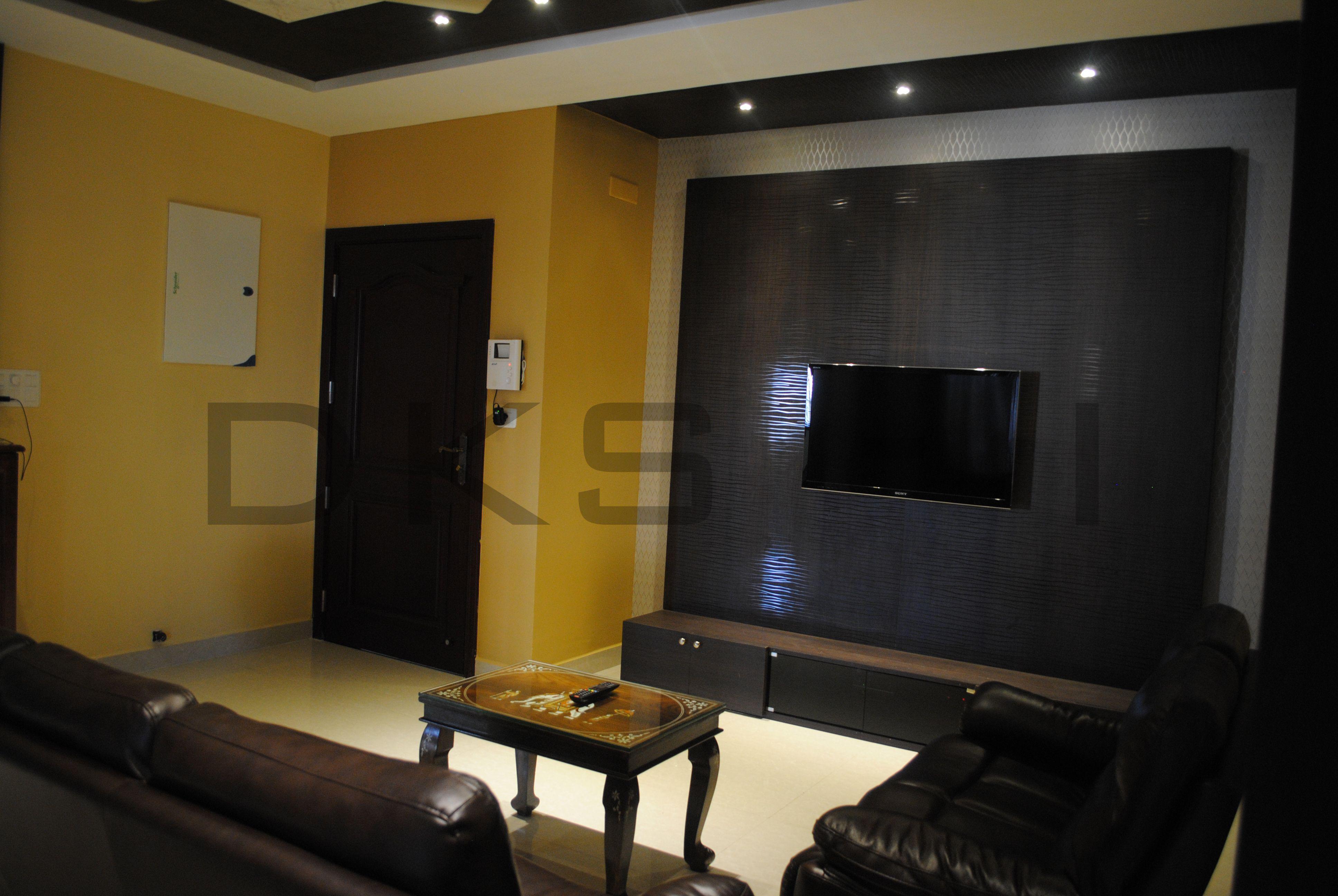 living room   tv panel wall residential interior designs