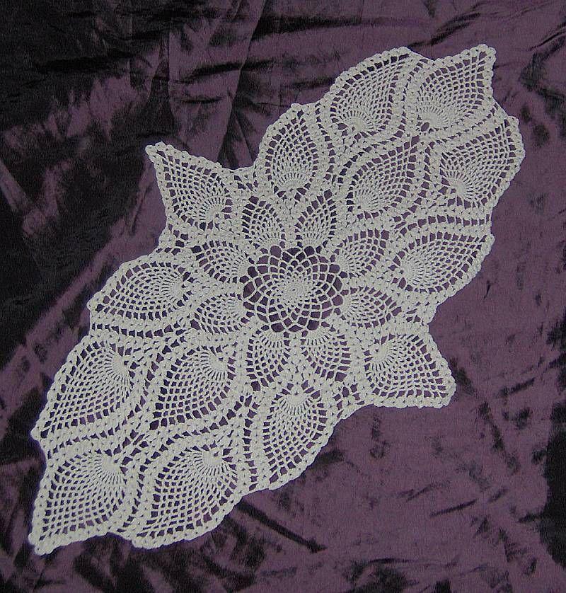 Crochet Oval : Oval doily I crocheted crochet ideas Pinterest