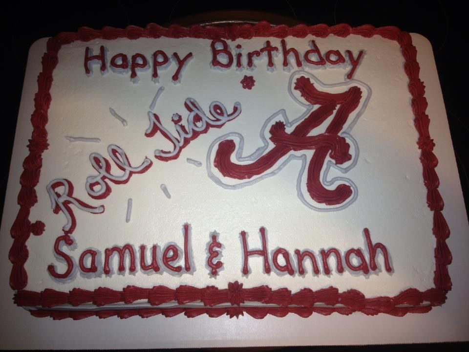 Alabama Cake Cake Ideas Pinterest