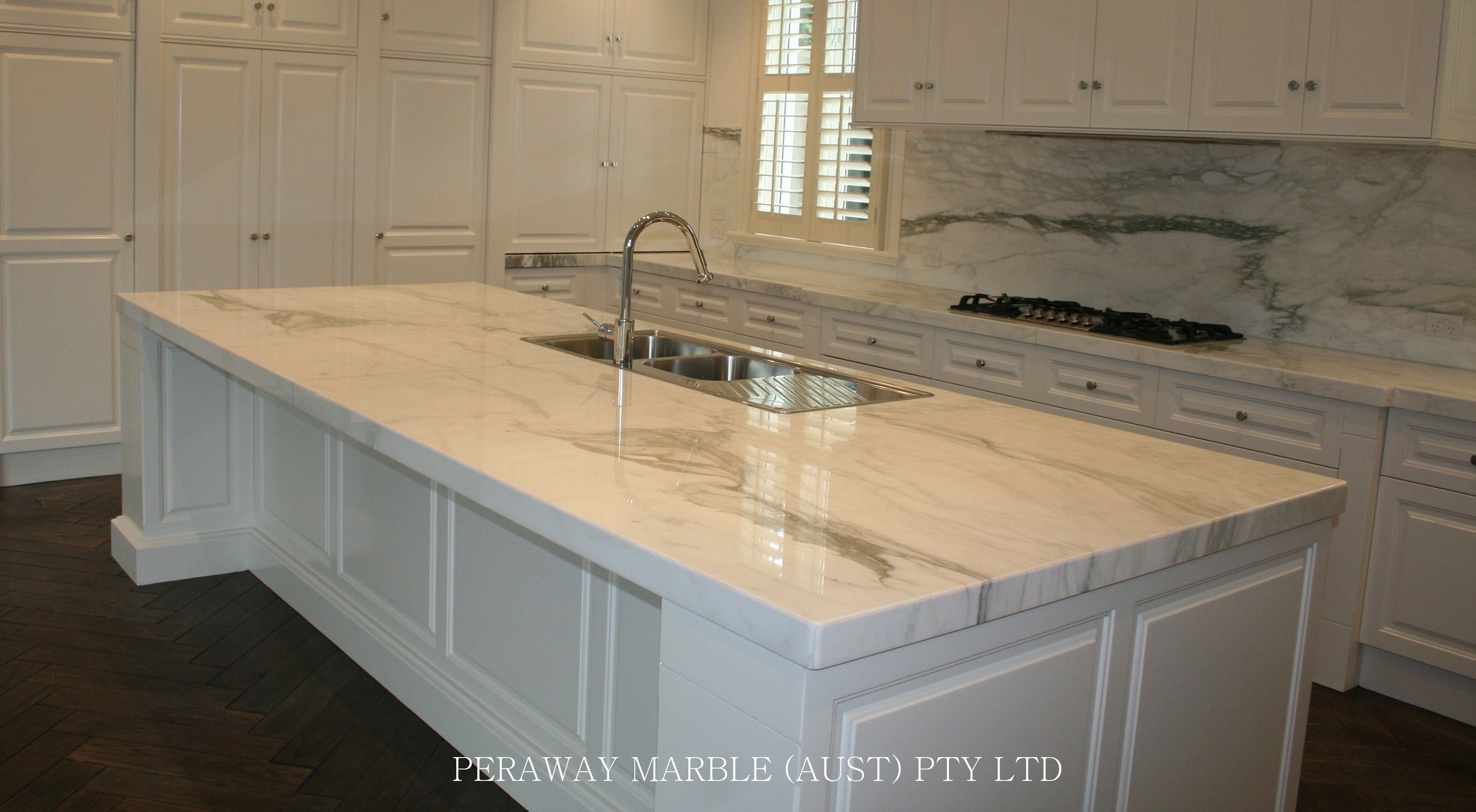 White calcutta marble kitchen for the home pinterest for Kitchen pin