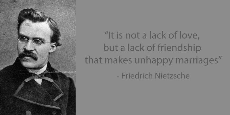 lack of love nietzsche quotes pinterest