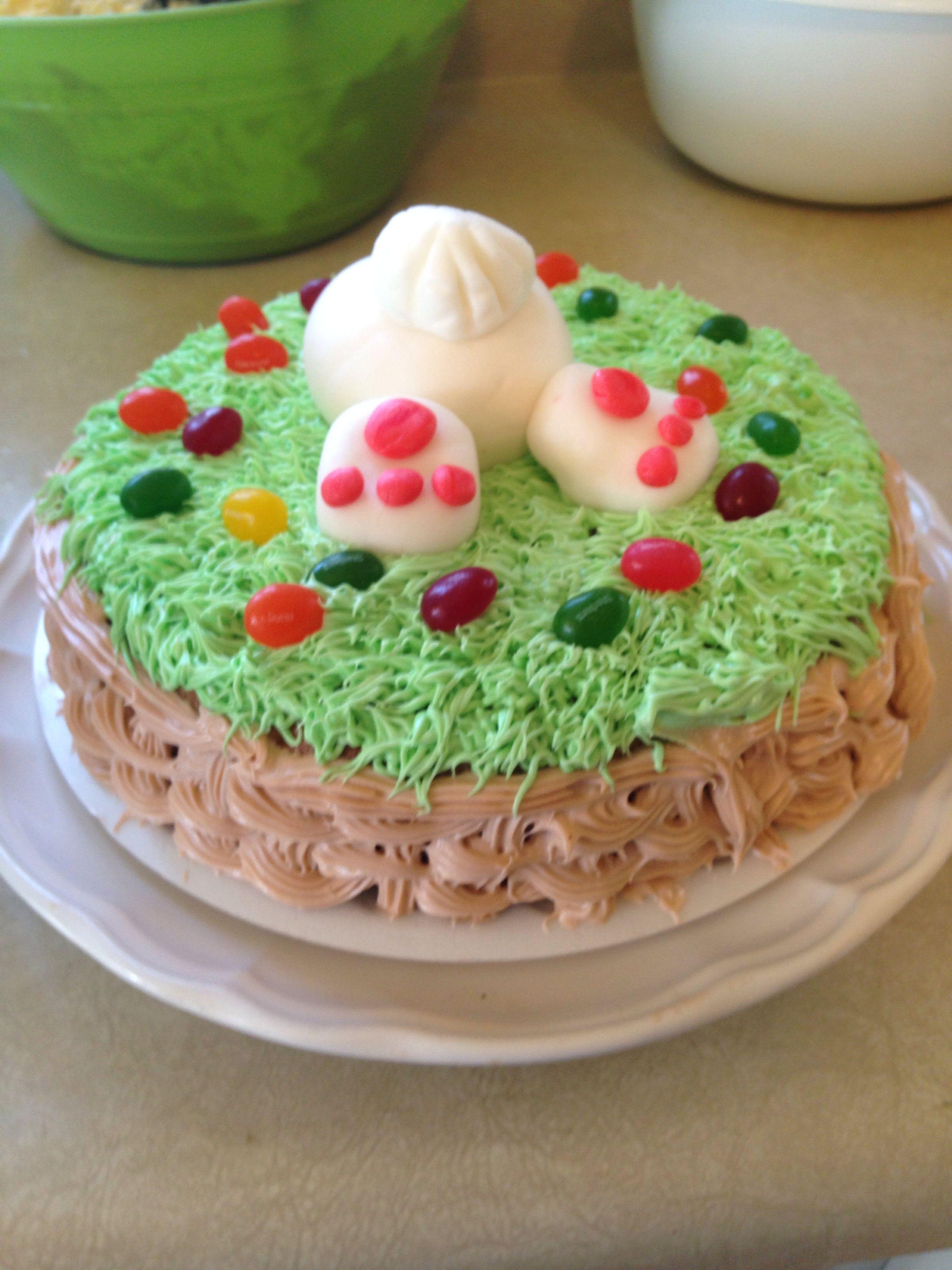 Easter bunny cake cake_designs Pinterest