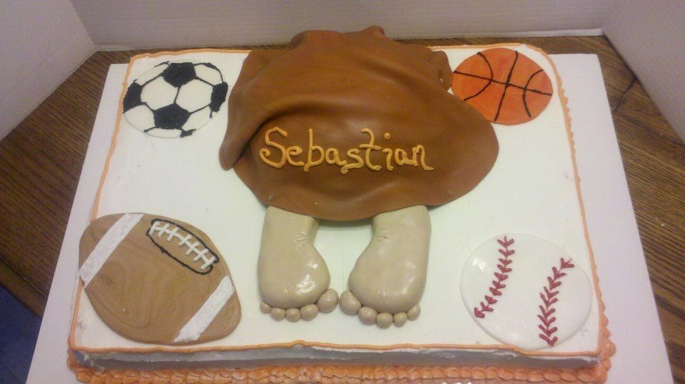 sports theme baby shower baby shower ideas pinterest
