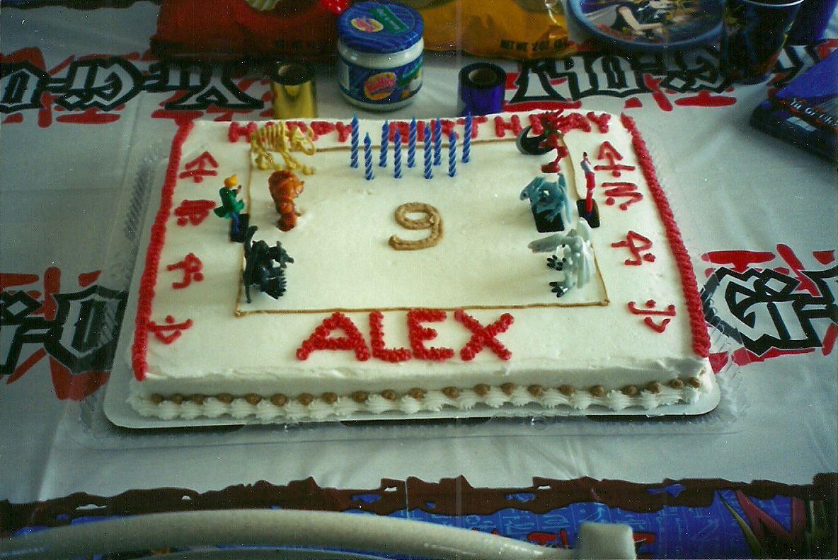 yugioh birthday cake