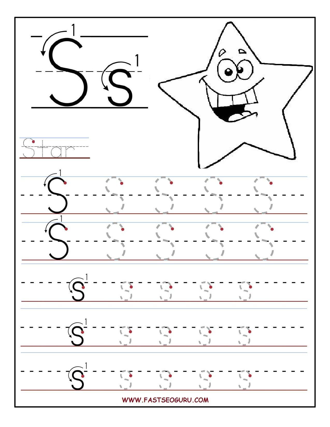 Letter f handwriting worksheet
