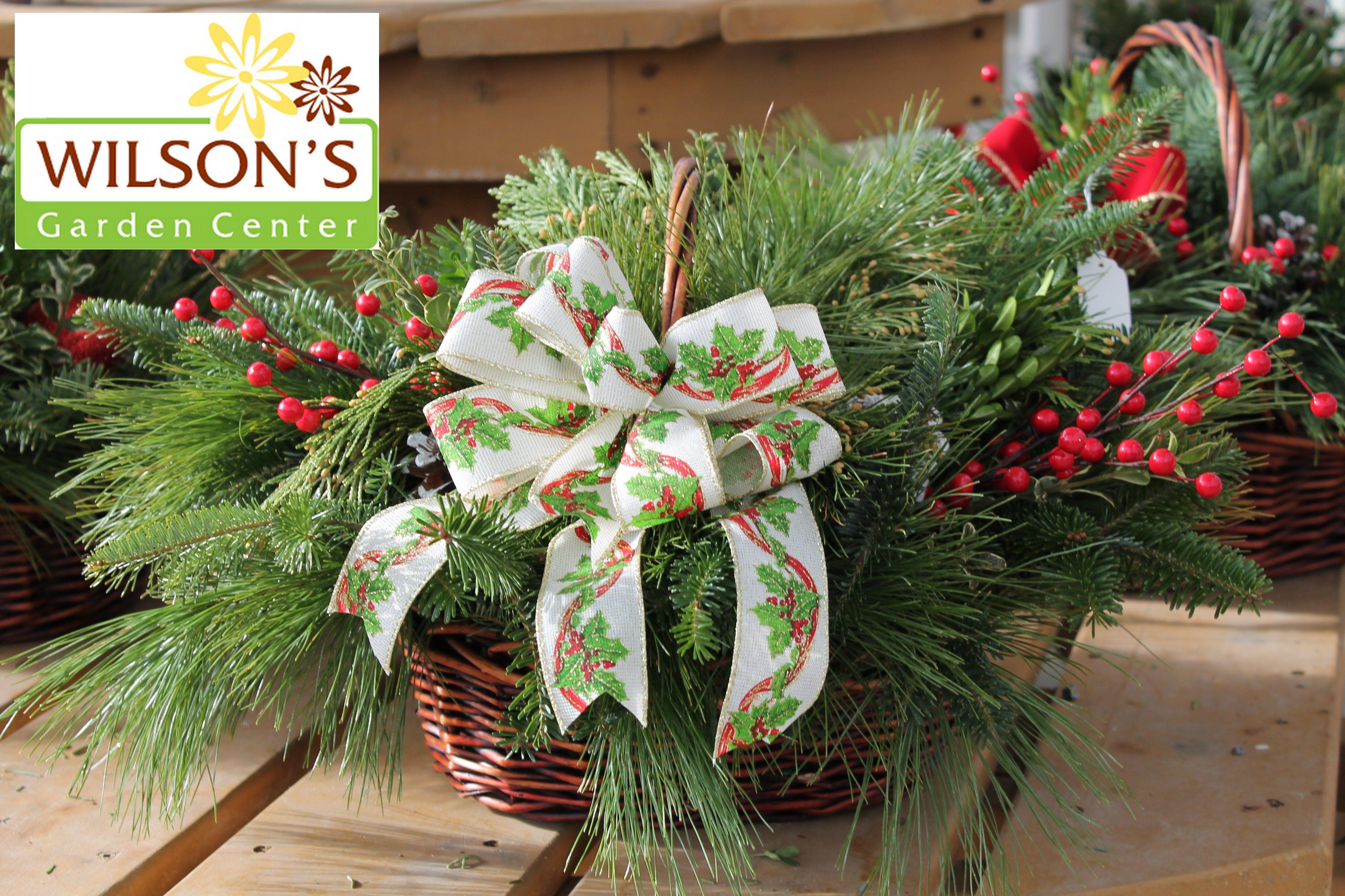 Fresh Greens Basket | Christmas - Fresh Greens ...