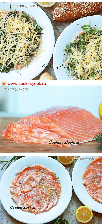 Пошаговые фото рецепты из лосося