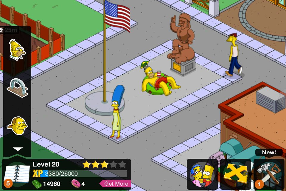 The Simpsons tapped out game  Game on!  Pinterest