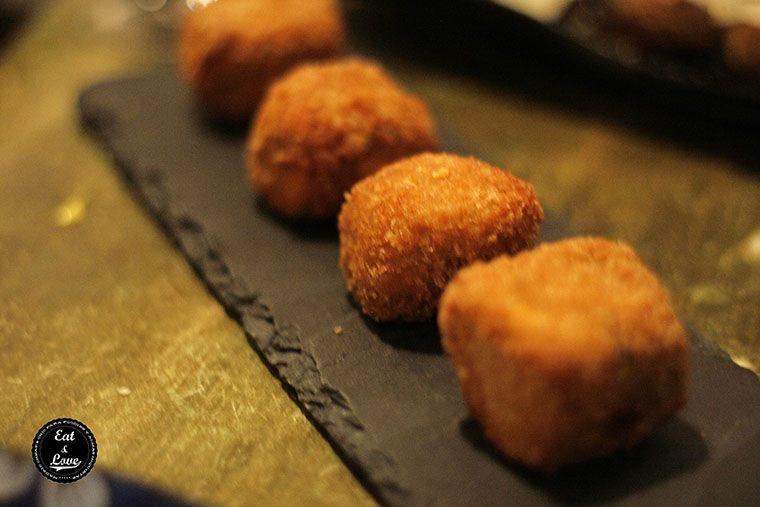Croquetas de sobrasada y chocolate en Gastrocroquetería de Chema - restaurante Madrid
