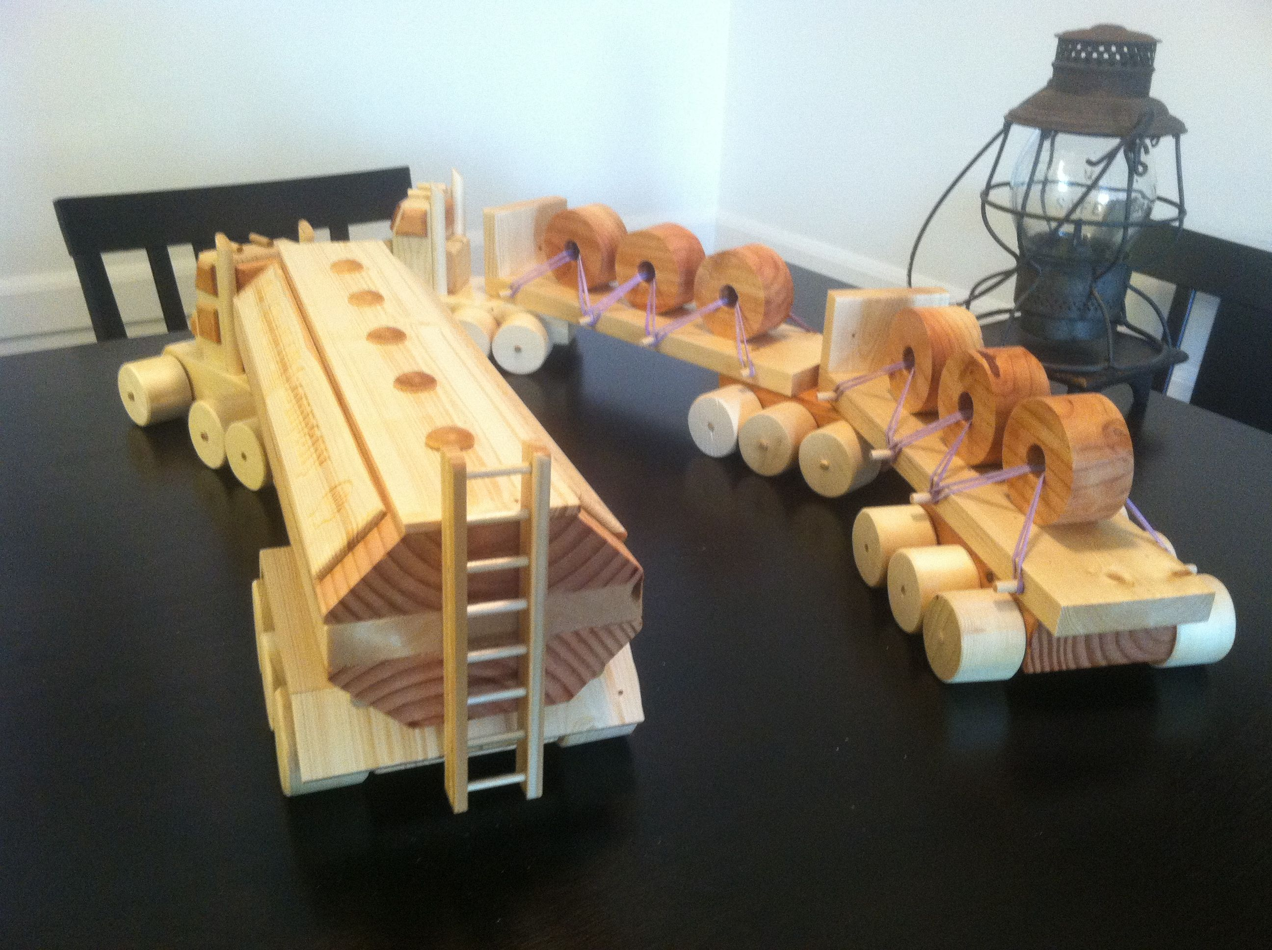 Home Made Wooden Toy Vehicles – Pat F Johnson