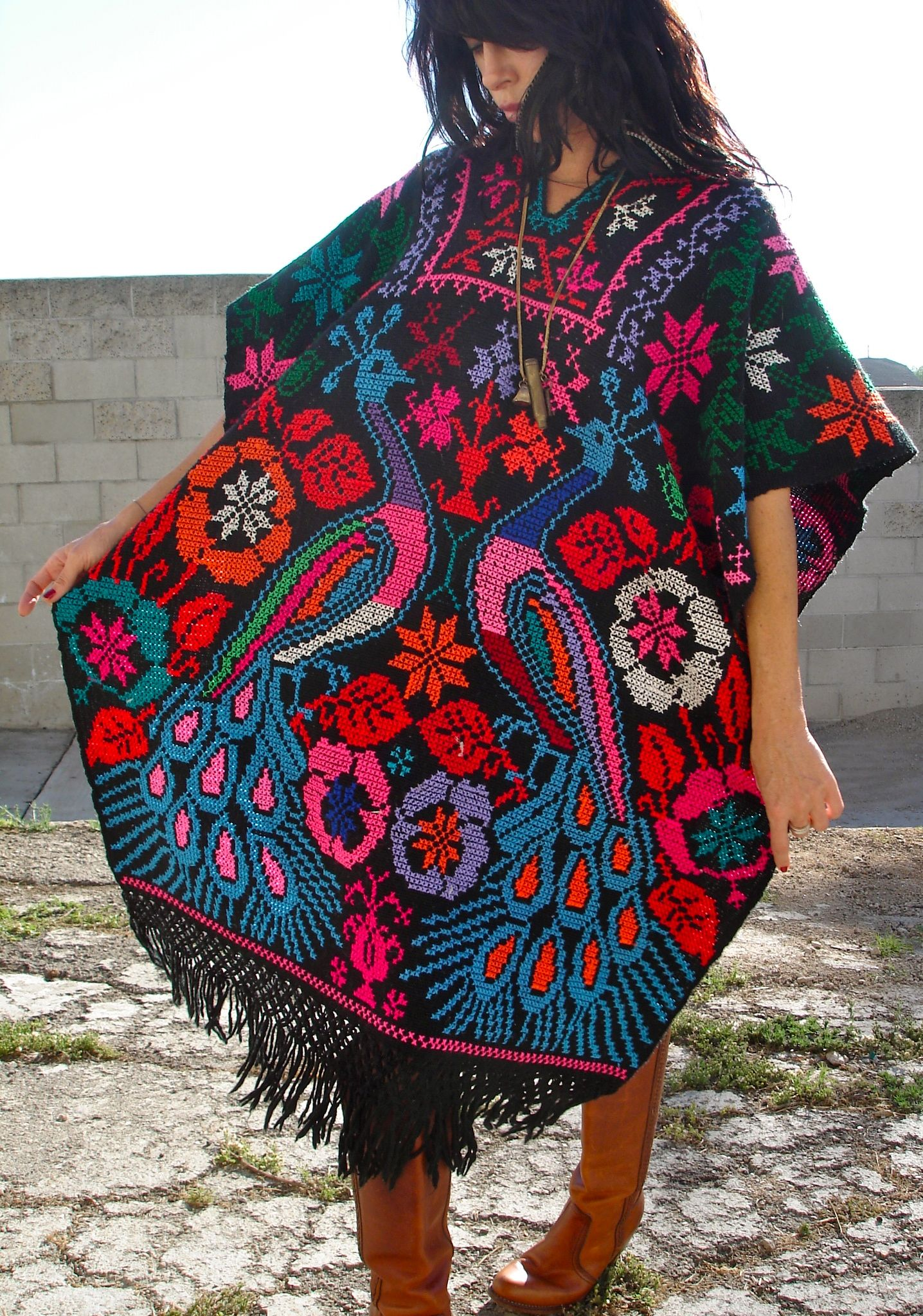 Put Away Clothes In Spanish ~ The gallery for gt mexican poncho