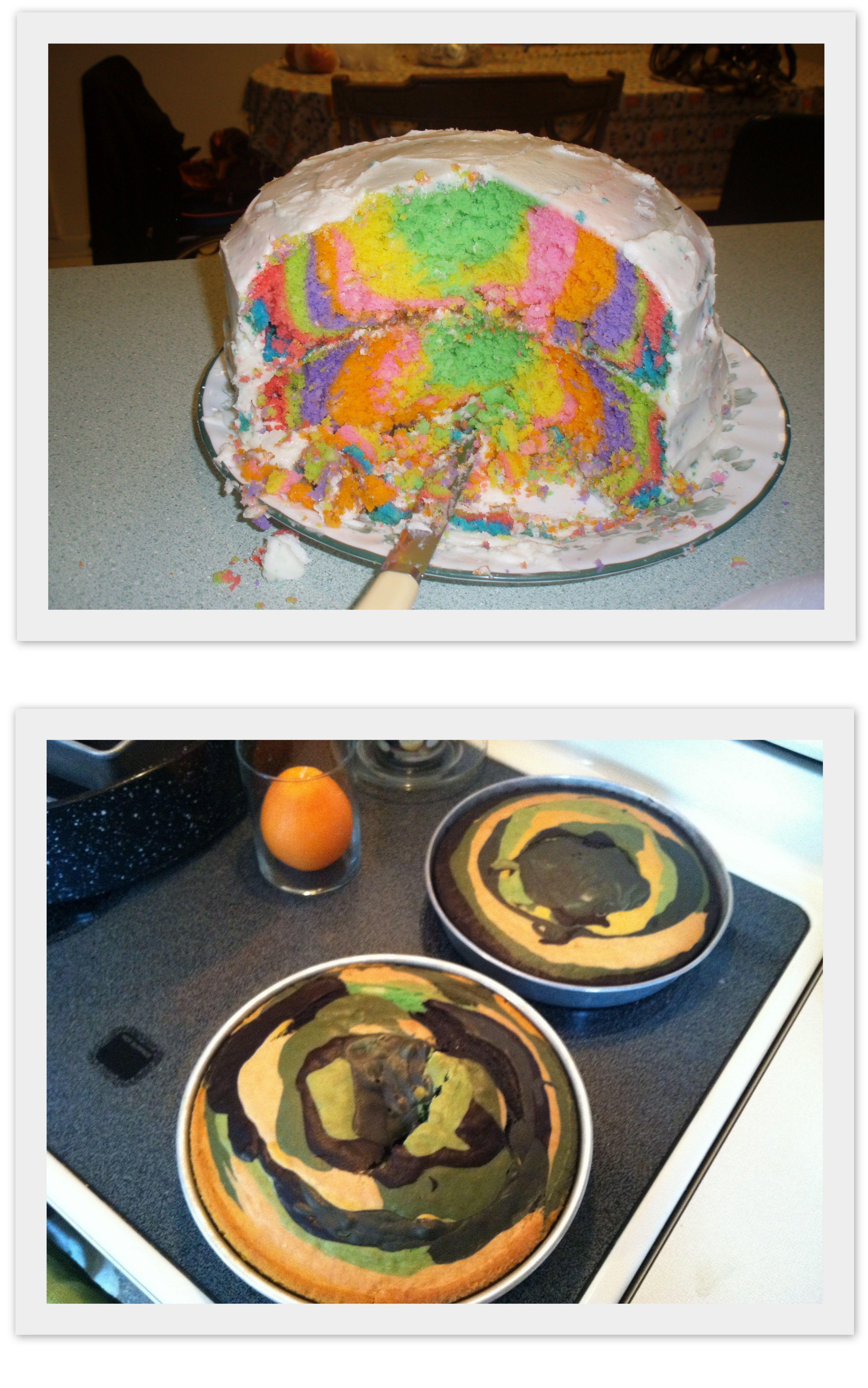 Realtree Camo Wedding Cakes