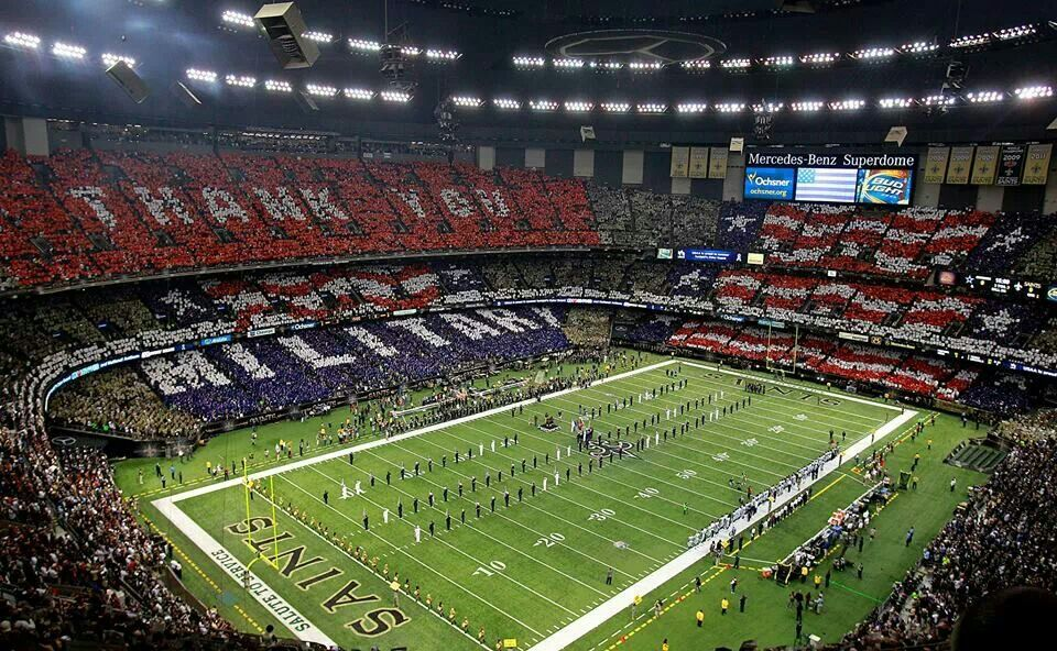 Mercedes benz superdome new orleans la stadiums and for Mercedes benz superdome new orleans la
