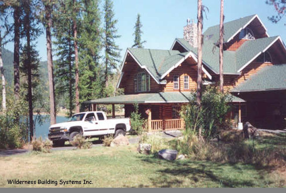 Montana Log Homes On Lakes Log Cabins On Lake Pinterest