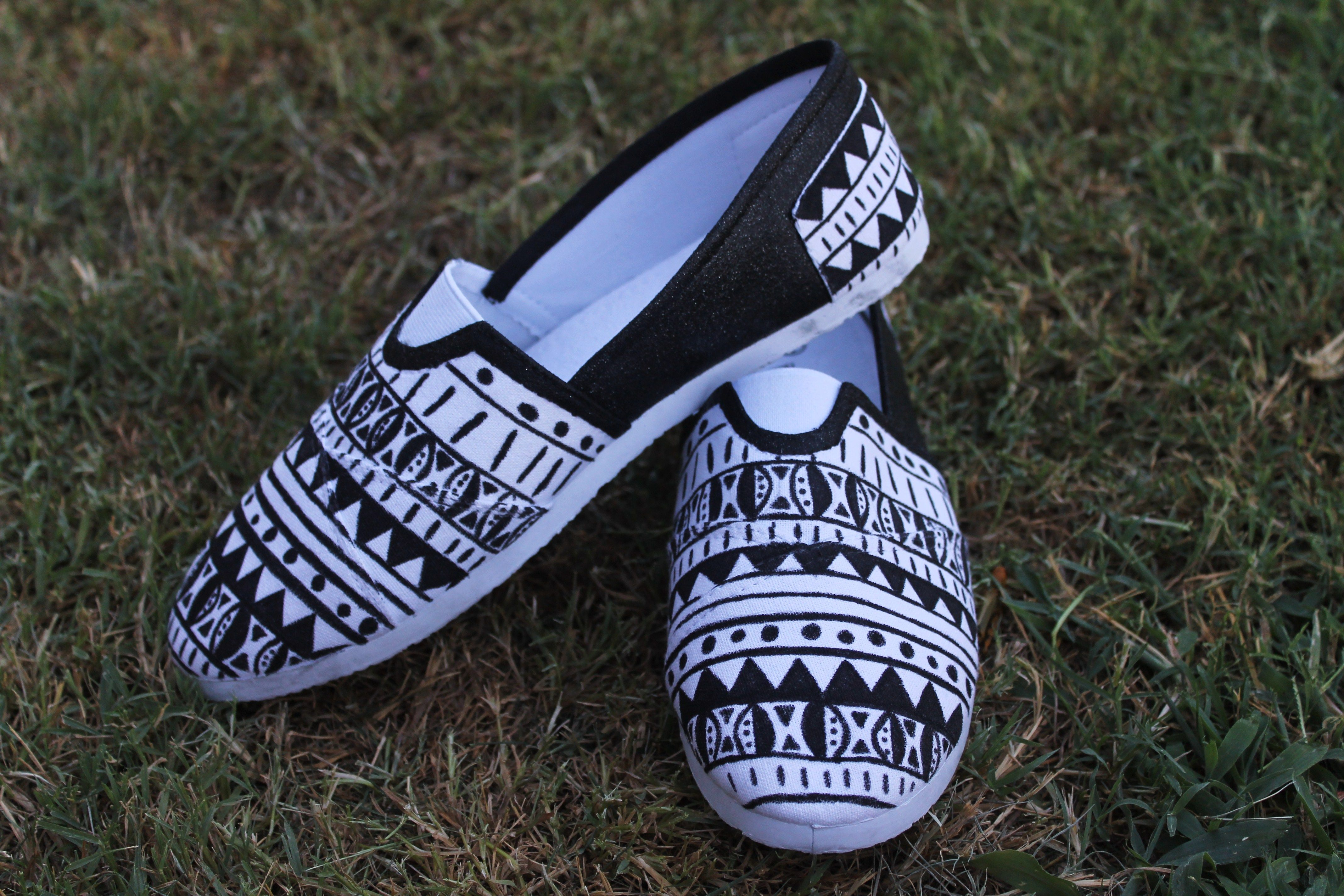 tribal print shoes clothes