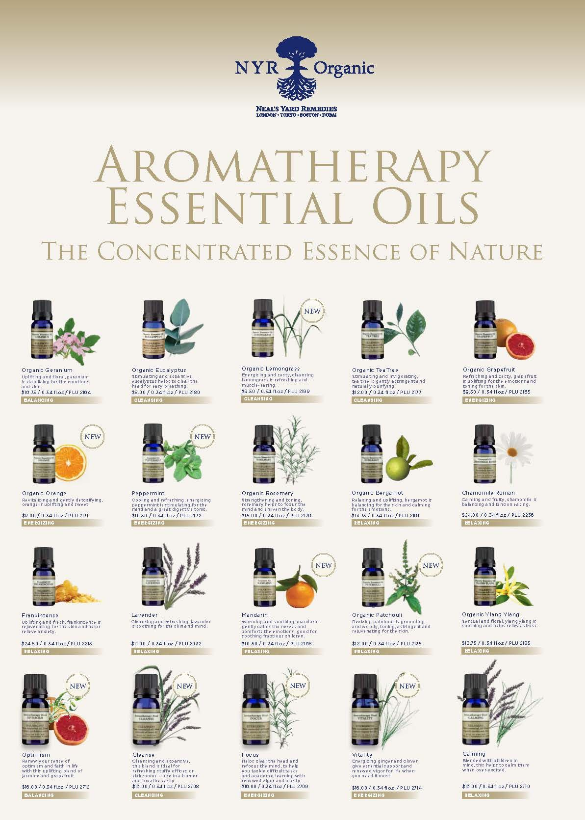guide to essential oils and their uses