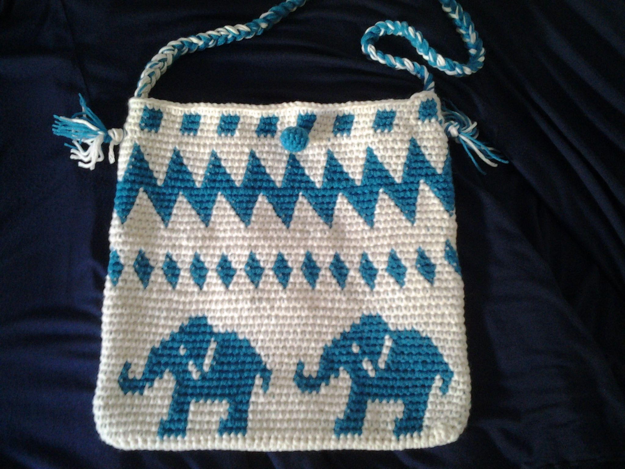 Tapestry Crochet Bag : tapestry crochet Tapestry Crochet and Mogila bags Pinterest