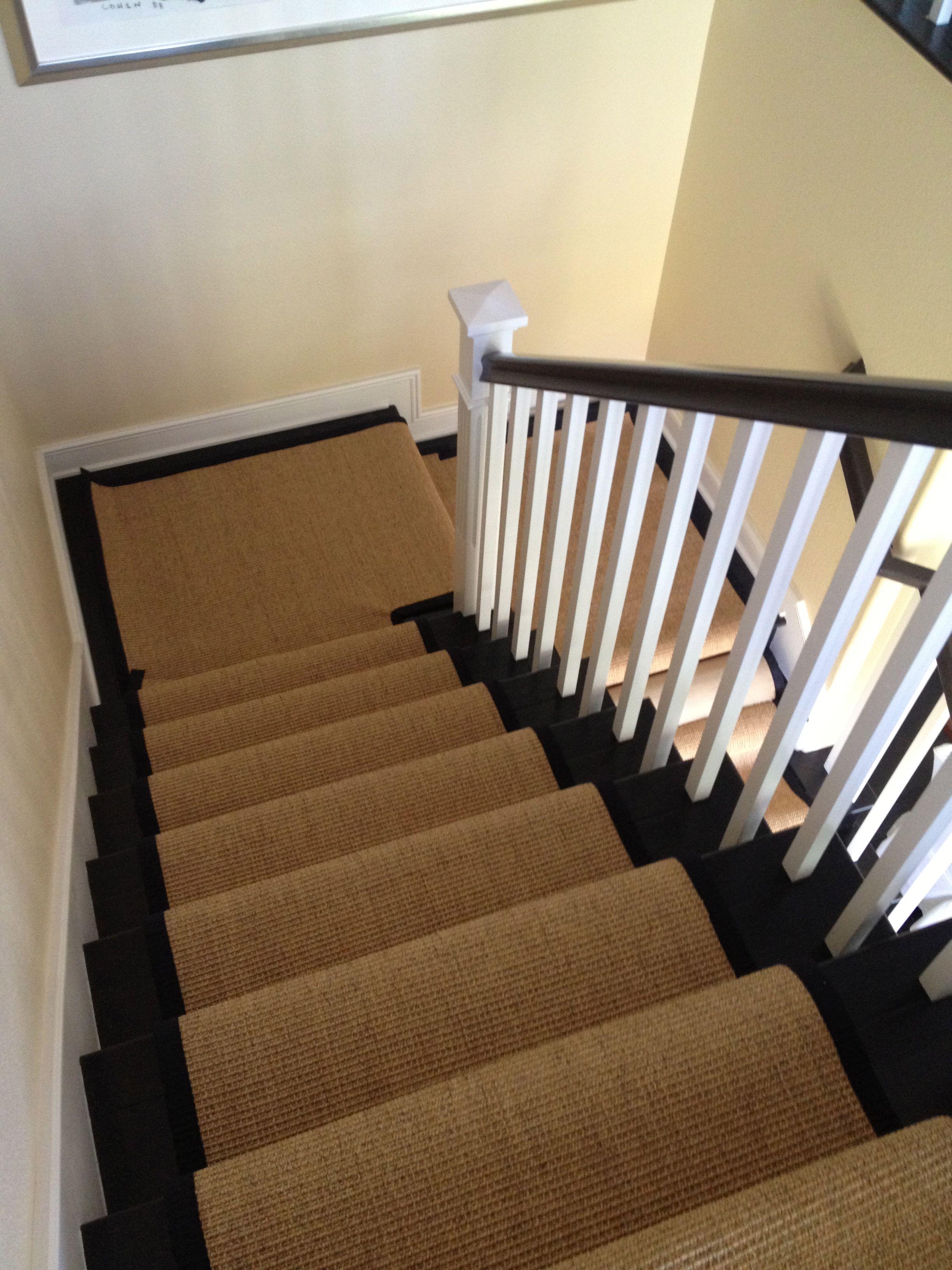 Best Stair Sisal Runner With Black Border The Good Home 400 x 300