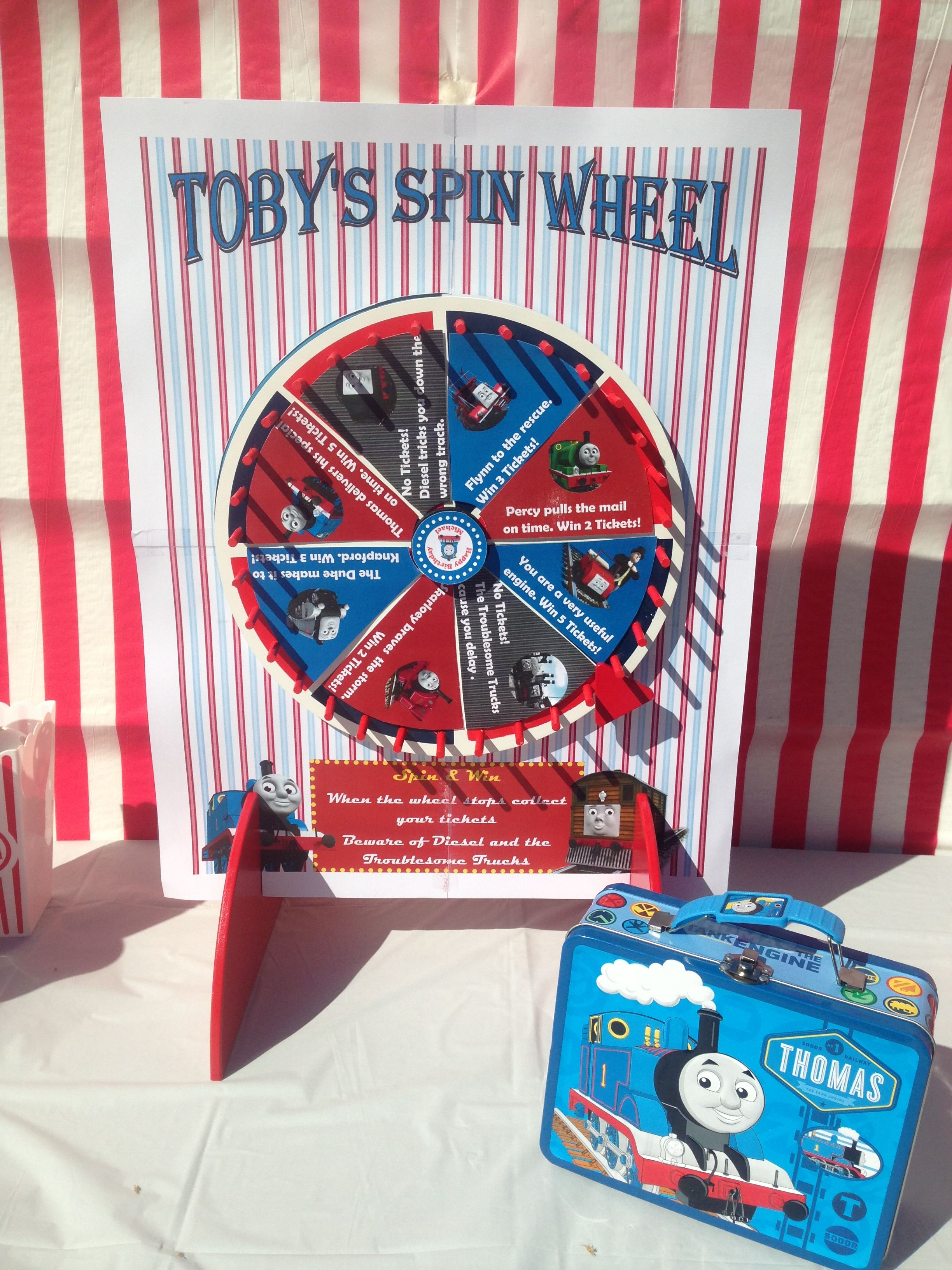 spinning wheel party games