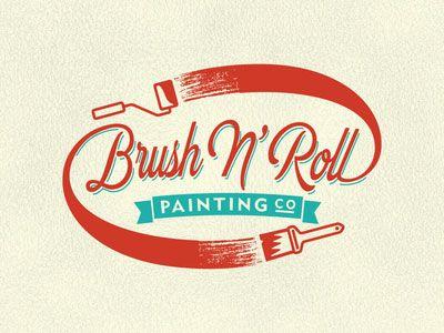 Painting company logo design ideas
