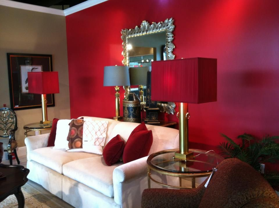 Red Accent Wall Interesting Of Red accent wall | For the Home | Pinterest Pictures