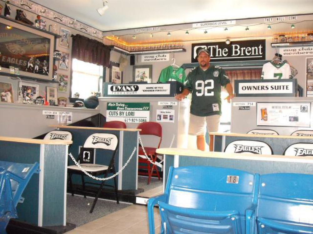 Eagles Man Cave Ideas : Philadelphia eagles themed man cave football pinterest