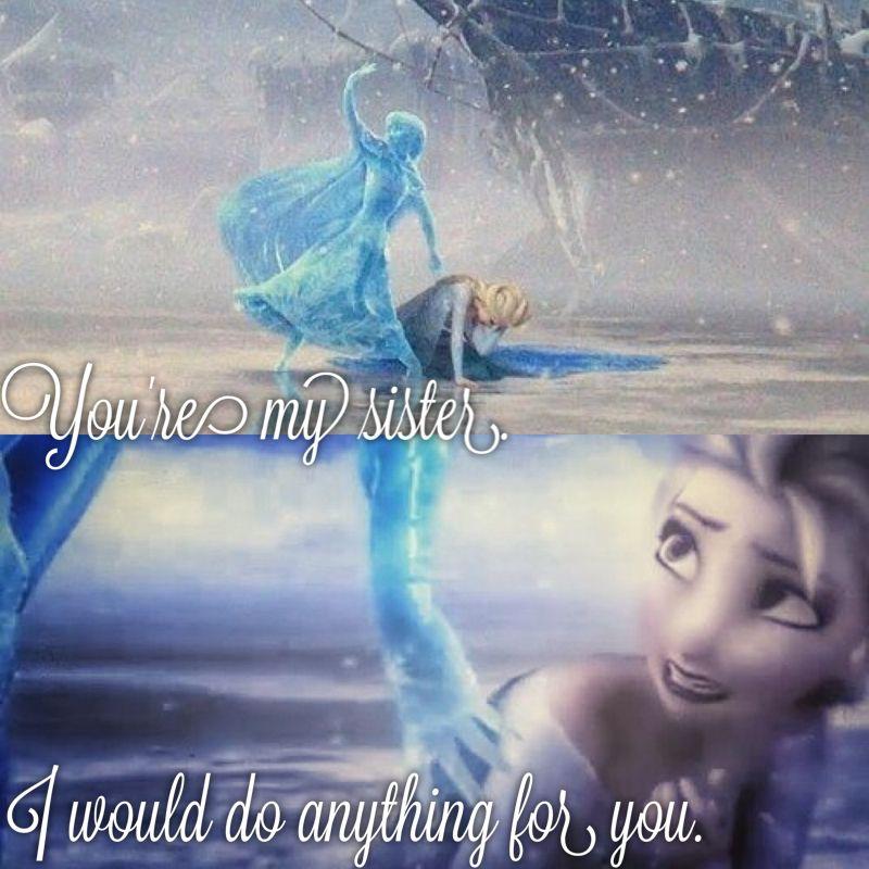 Frozen Anna And Elsa Quotes. QuotesGram