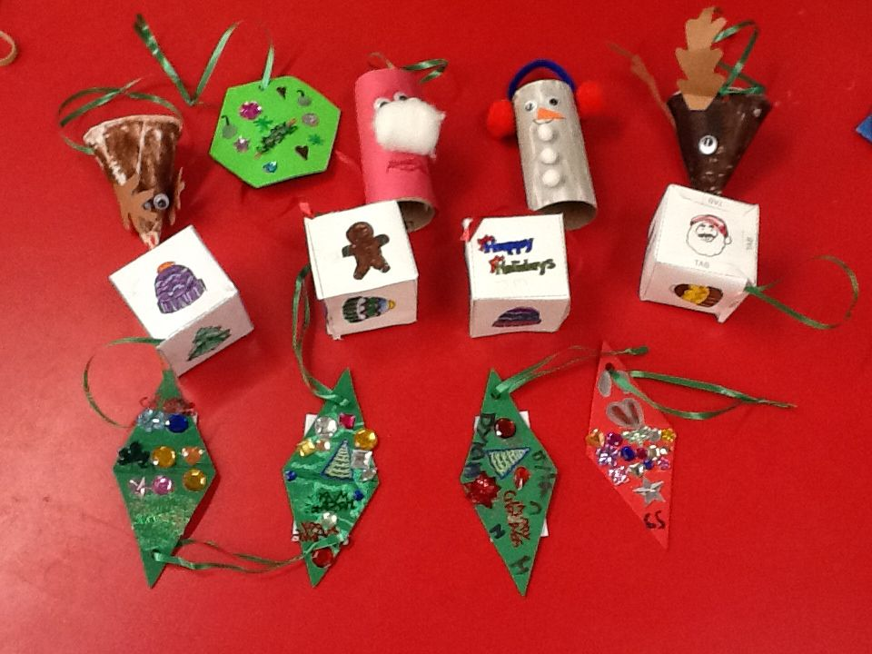 Christmas Decorations 3d Shapes Ks2 : D and shape christmas ornaments math