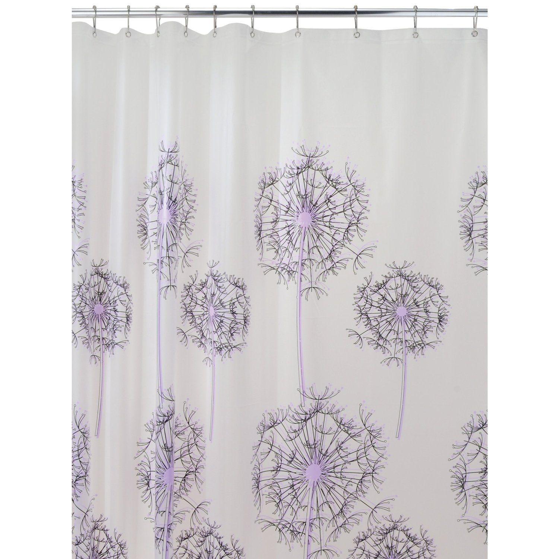 Shower Curtain My Love Purple Pinterest