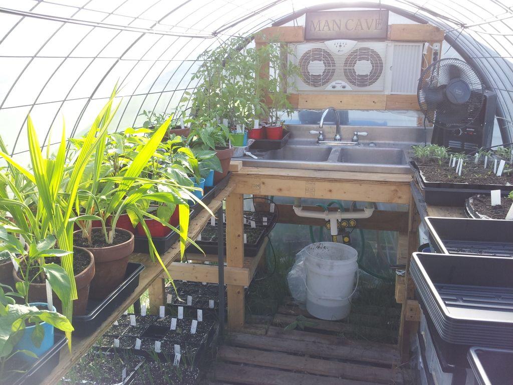Backyard garden layout - Greenhouse Setup Greenhouse Setup Ideas Pinterest