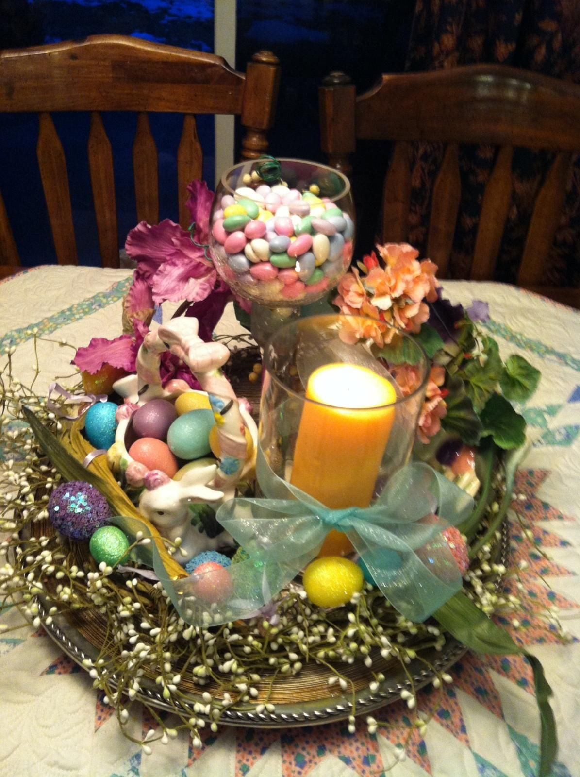 Easter table decor easter pinterest - Table easter decorations ...