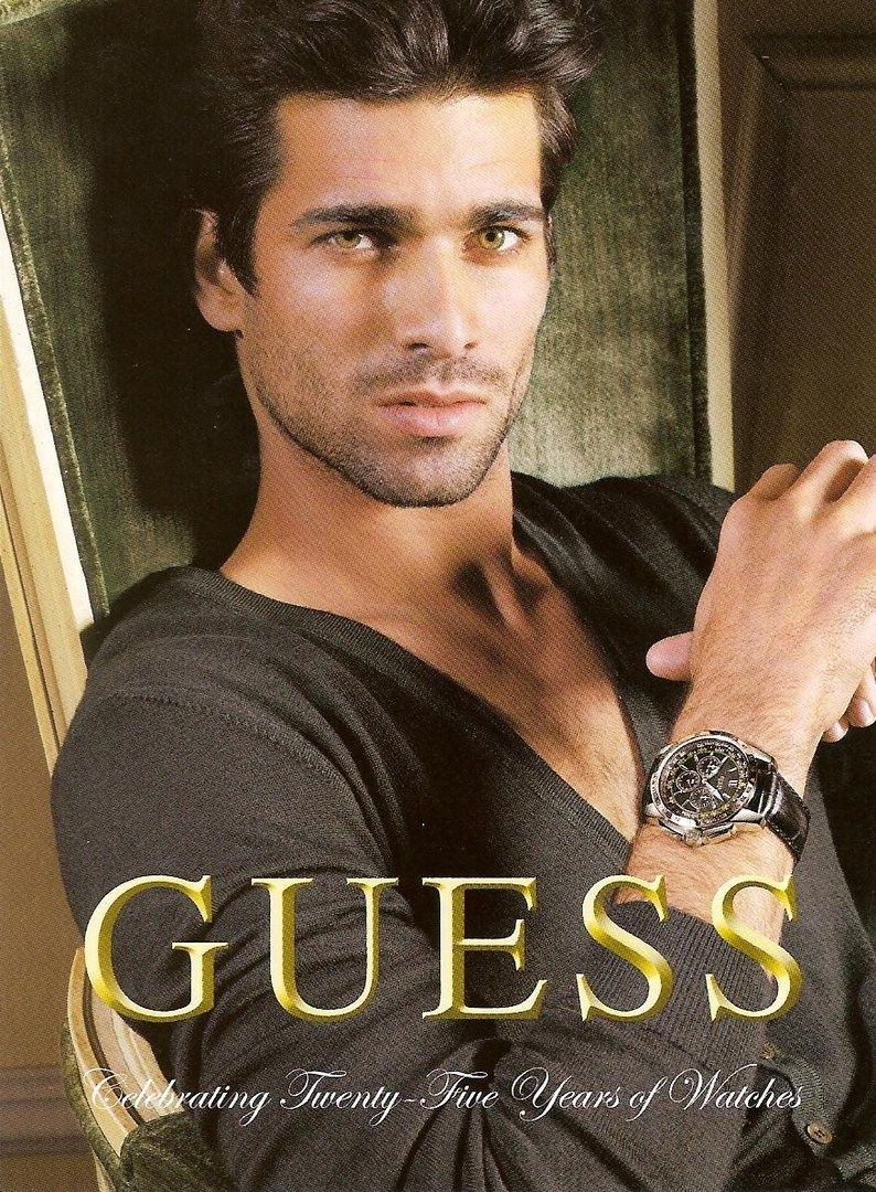 Ruben Cortada for Guess Watches | Male Models | Pinterest