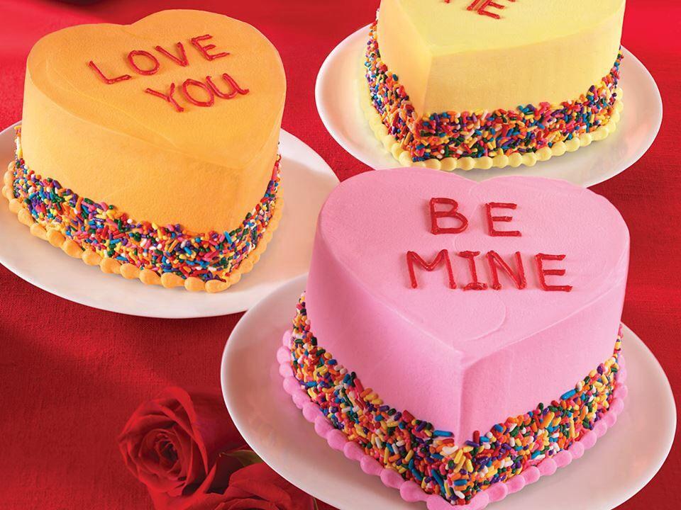 valentine's day ice cream cakes