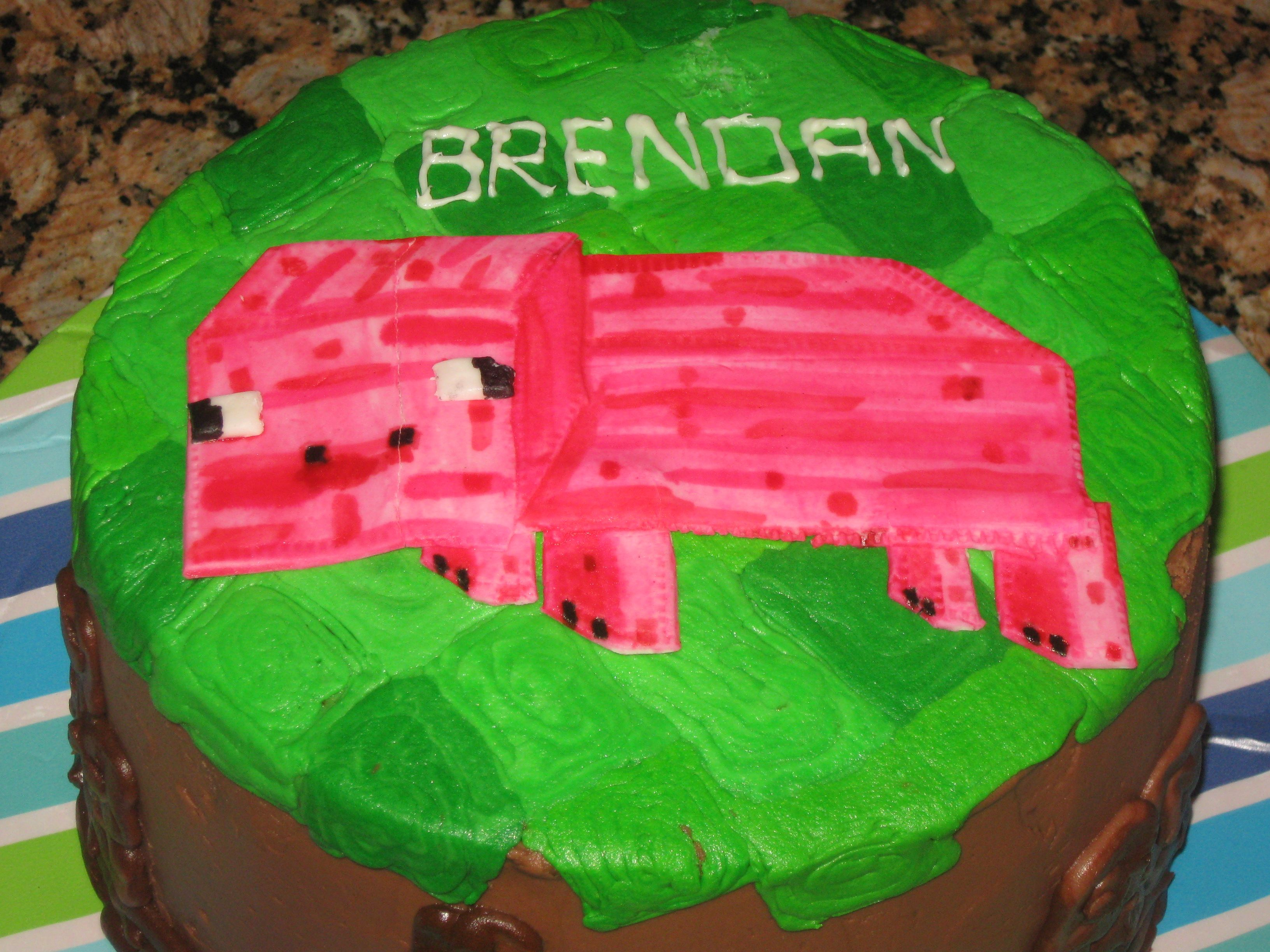 Minecraft Pig Cake Images : Pin Minecraft Cake Perler Bead Pattern Sprites Food Fuse ...