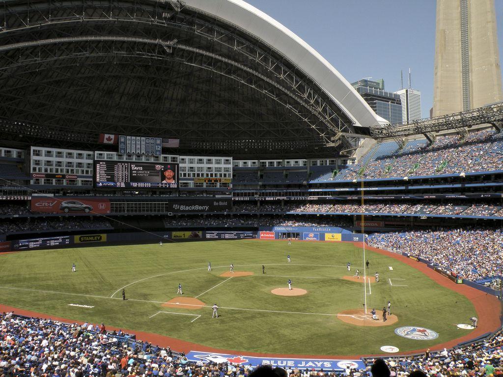 Rogers Centre | MLB Stadiums | Pinterest