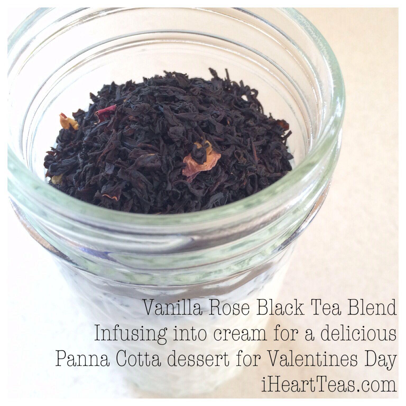 Green Tea Panna Cotta With Strawberries Recipe — Dishmaps