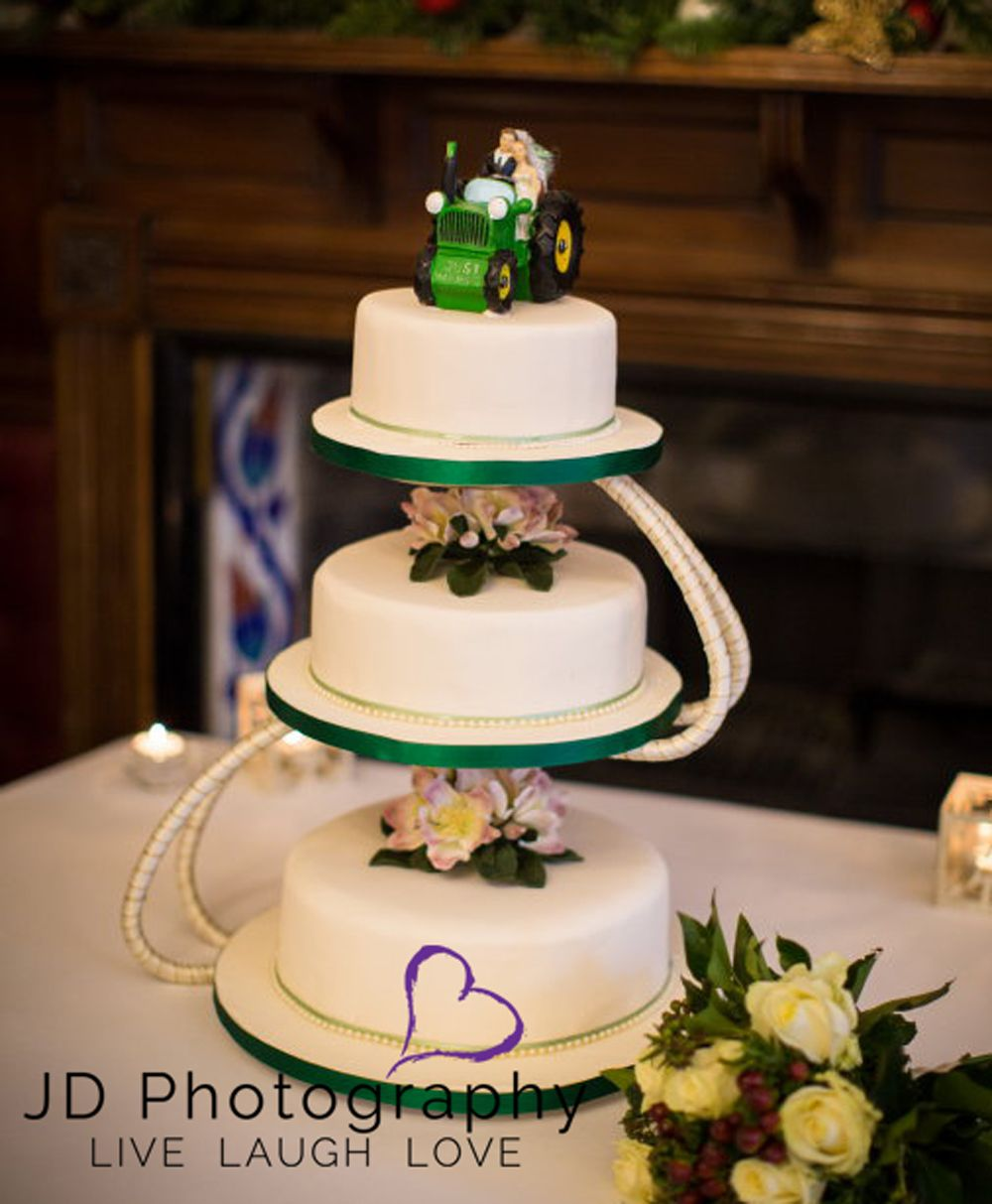 Red Tractor Bride Cake Ideas And Designs