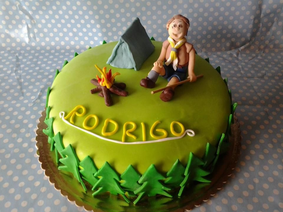 Cake Decorating Ideas For Boy Scouts : boy scout cake Cake Ideas Pinterest