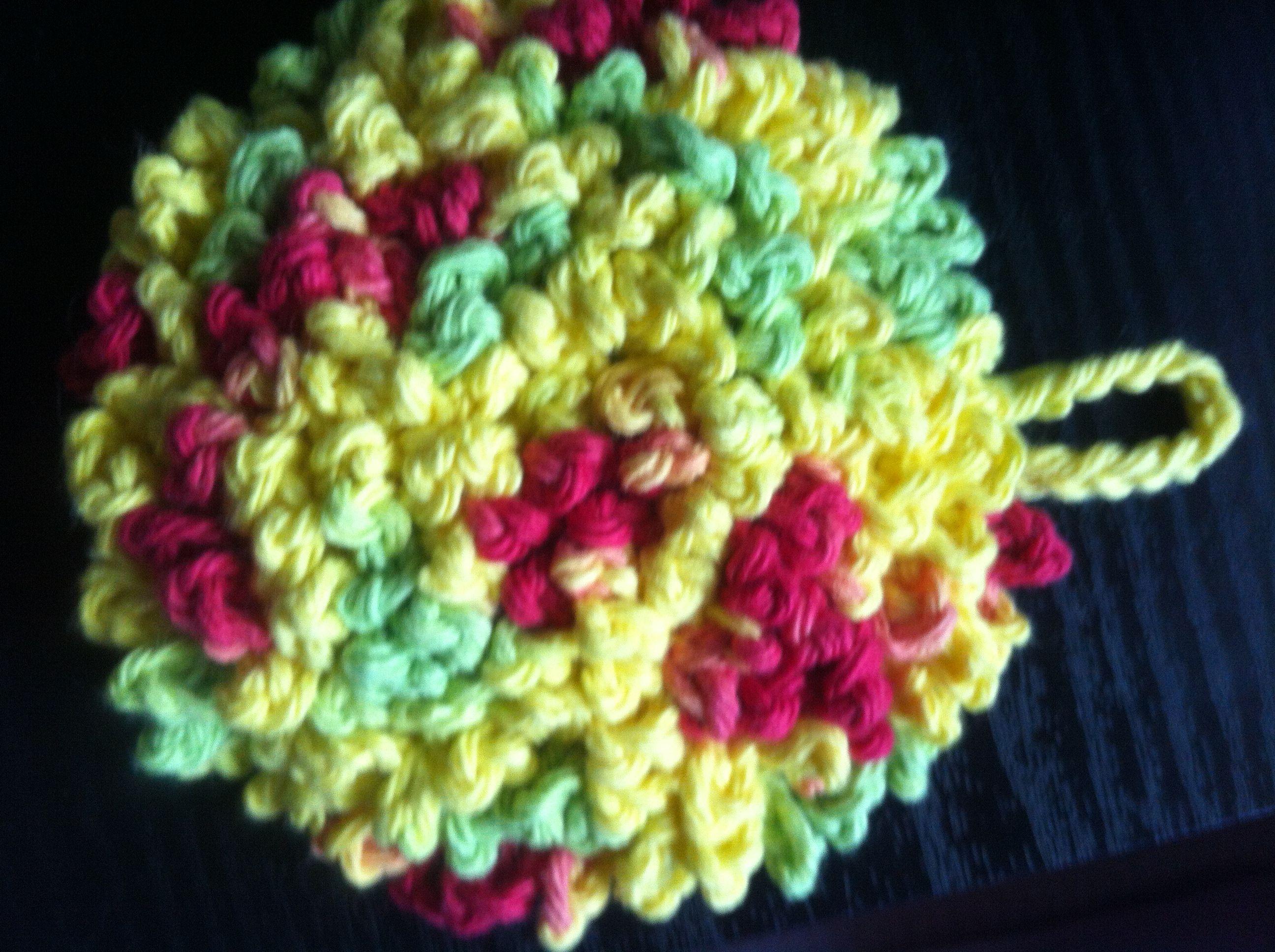 Crochet pattern kitchen scrubbie manet for crocheted dish scrubbie crochet pinterest bankloansurffo Gallery
