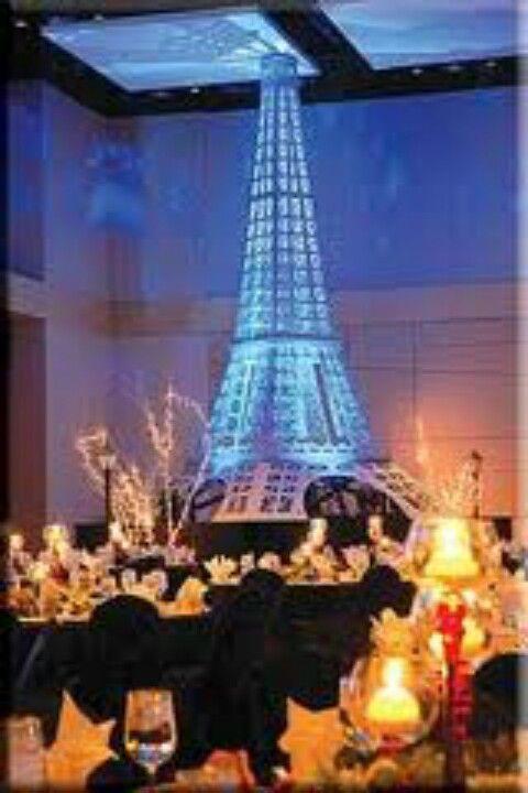 Eiffel Tower For A Paris Themed Wedding